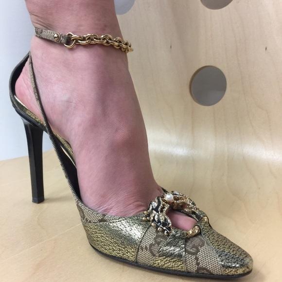 6a74abbd262 GUCCI TOM FORD Shoes - Gucci shoes Tom Ford ERA Dragon Heels SZ 6
