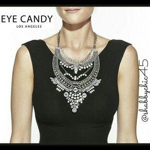 Eye Candy LA  Jewelry - SALE!! Boho Tiered Silver-tone Statement Necklace