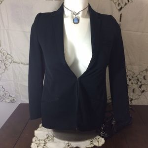 A Pea in the Pod Jackets & Blazers - A pea in the pod black maternity blazer