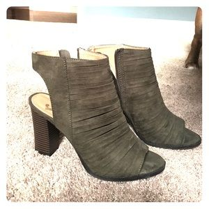 Report Shoes - Dark Green Booties 💚👢