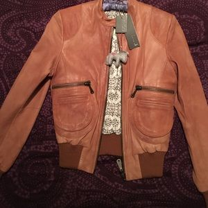 Damir Doma Jackets & Blazers - Doma lamb leather bomber jacket