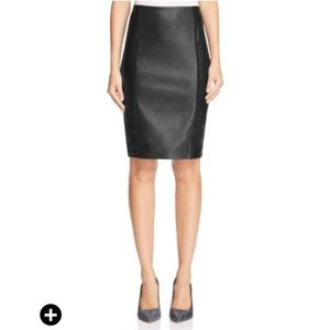 Bailey 44 Dresses & Skirts - Bailey 44 faux leather panel pencil skirt