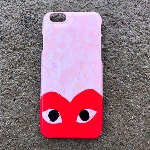 Comme des Garcons Accessories - Marble Comme Des garçons iPhone case!!
