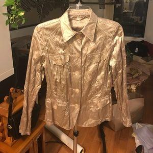 Basler Jackets & Blazers - Basler Collection champagne lightweight jacket