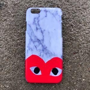 Comme des Garcons Accessories - Marble Comme Des Garçons Case for any iPhone!!