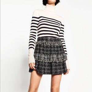 Zara 2016 Fall Frill Skirt New w/ Tag