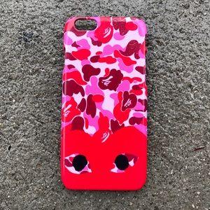 Comme des Garcons Accessories - Comme Des Garcons x Bape Case for any iPhone!!