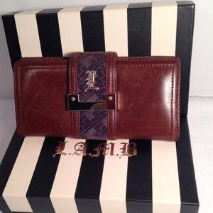 L.A.M.B. Clutch Wallet