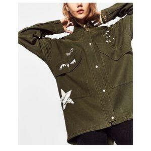 Zara Jackets & Blazers - 🆕Zara Parka with Print