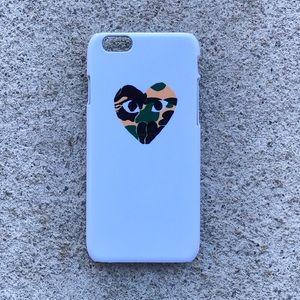 Comme des Garcons Accessories - Comme Des Garçons x Bape Case for any iPhone!!