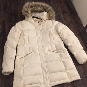 Ralph Lauren medium cream puffy jacket