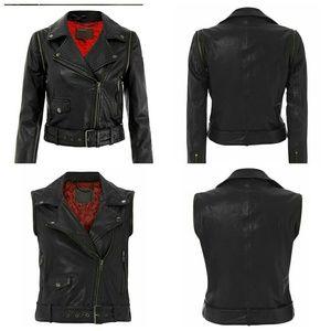 Muubaa Jackets & Blazers - 💥1 DAY SALE!💥 Muubaa Savona Leather Vest Jacket