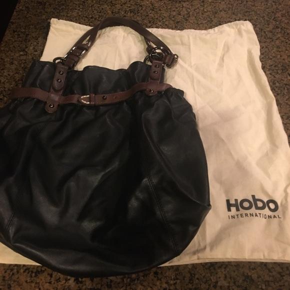 8eac7689d19 HOBO Bags   International Black Bucket Bag   Poshmark