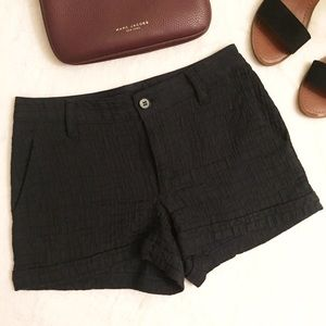 Marc by Marc Jacobs Pants - MARC JACOBS High Waisted Black Shorts