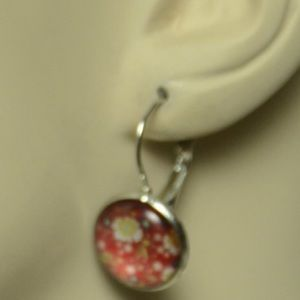 Jewelry - New Red Floral Earring