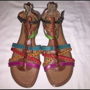 Maya Shoes - New sandals from Mexico multicolored