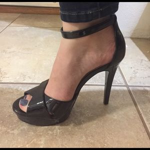 Nine West Shoes - NiB: Nine West black peep toe High heel, sz 7