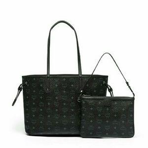 MCM Handbags - NWT MCM Reversible Shopper Medium Tote