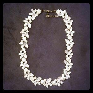 J. Crew Jewelry - Crystal wreath cocktail necklace