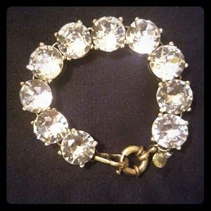 J. Crew Jewelry - FLASH SALE!!! J crew clear crystal bracelet