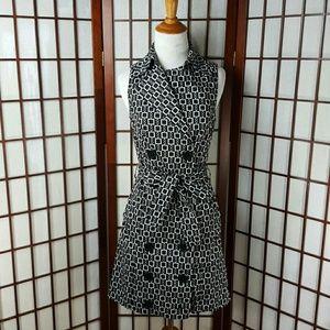Vertigo Paris Dresses & Skirts - Black & White VERTIGO PARIS Chain Shirt Dress