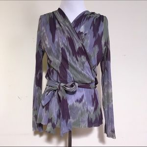 Sweet pea by Stacy Frati blouse medium