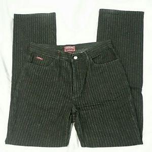 Chaps Denim - Chaps Black Pin Striped Jeans