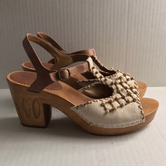 53a86528d03 Anthropologie Shoes - Anthropologie Miss Albright cycling wedges
