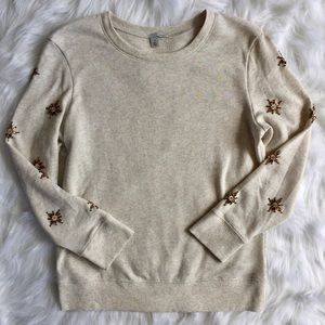 Halogen Sweaters - Halogen Beaded-detail Crewneck