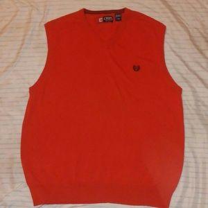 Chaps by Ralph Lauren Large Red Vest!