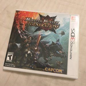 Nintendo Other - Monster Hunter Generation