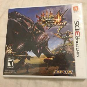 Nintendo Other - Monster Hunters Ultimate 4