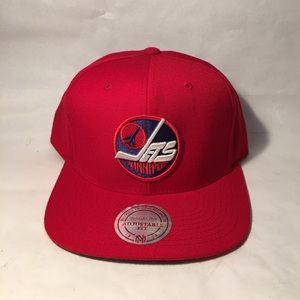 Mitchell & Ness Other - Mitchell & Ness: Winnipeg Jets adjustable hat