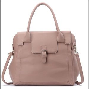 Beautiful Satchel Bag in Taupe