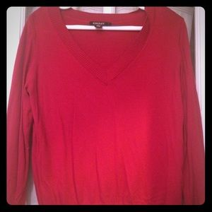 DKNY Sweaters - DKNY Red Sweater (size L)