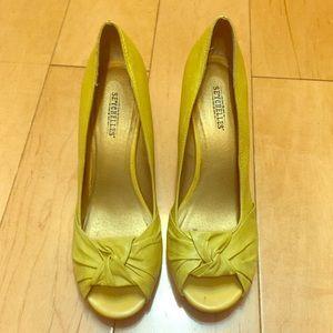 Seychelles Shoes - Seychelles wedges Lyme color peep Toe 8