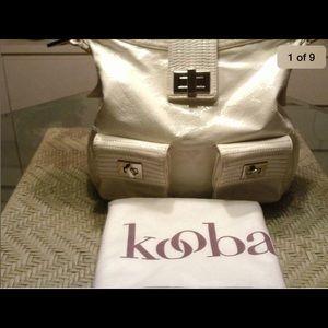 Kooba Handbags - 🌷KOOBA NATASHA WHITE PATENT LEATHER ~RETAIL $625~