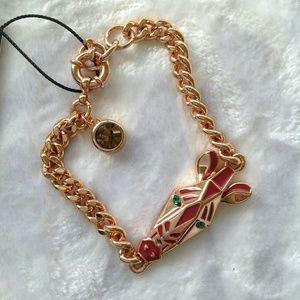 Marc by Marc Jacobs Jewelry - ??ONLY ONE?MMJ zebra rose gold bracelet