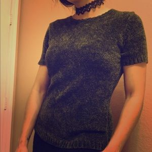 90's vintage olive green shirt by apostrophe small