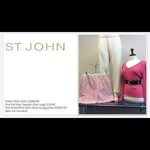 St John Crew Sweater