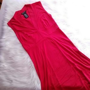 George Dresses & Skirts - SALE Lipstick red dress size Small 4/6 sleeveless