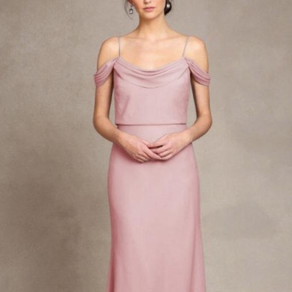 6746c7e6c24 Jenny Yoo Dresses   Skirts - Jenny Yoo Whipped Apricot Bridesmaid Dress  Size 2
