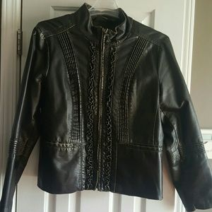 Big Chill Jackets & Blazers - Winter Clearance!! Faux Leather Jacket