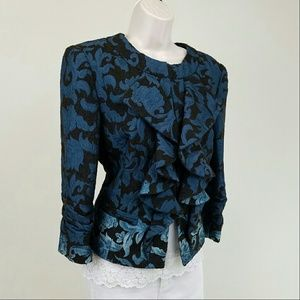 Muse Jackets & Blazers - Muse ombre jacquard jacket