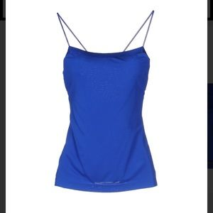 T by Alexander Wang Saphire Blue tank. 4. NWT