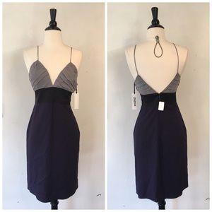 Barneys New York Dresses & Skirts - L'AGENCE DOUBLE V SPAGHETTI STRAP COCKTAIL DRESS