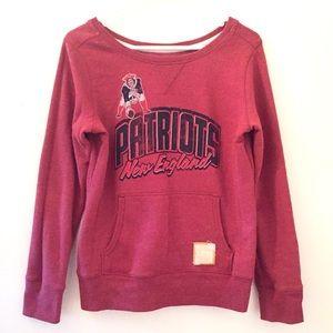 New England Patriots NFL retro sports sweatshirt