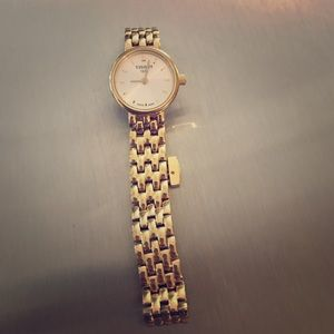 Tissot Accessories - Tissot gold watch. With extra links