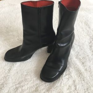 Rockport Shoes - Rock port black leather boots