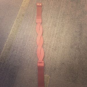 Accessories - Elastic faux leather brown belt from Francesca's